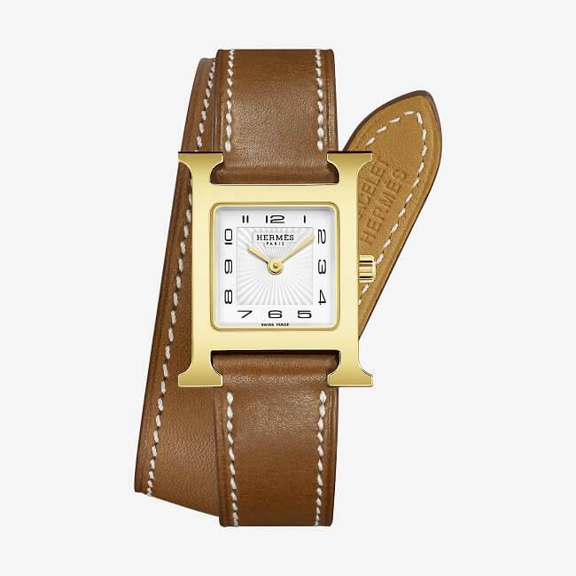 Hermes Heure Watch - điểm nhấn hoàn hảo nữ doanh nhân mạnh mẽ quyết đoán