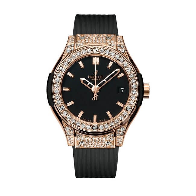 Hublot Classic Fusion King Gold Pave