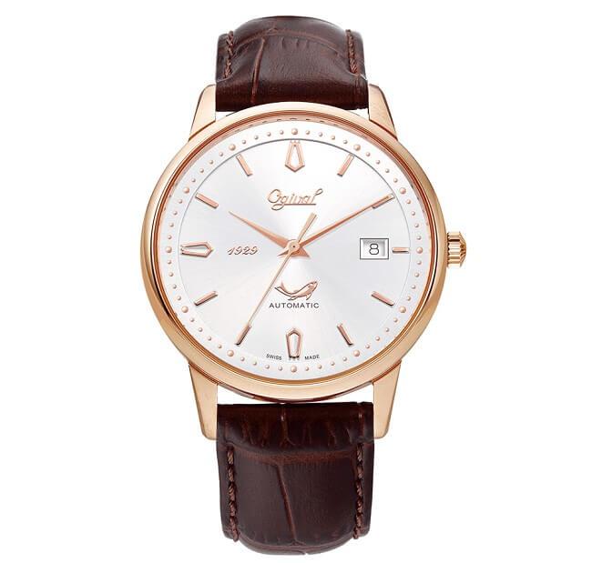 Thiết kế đơn giản, tinh tế của đồng hồ Ogival