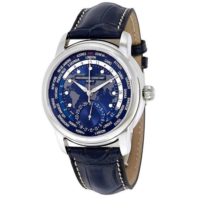 Đồng hồ Frederique Constant Classic Worldtimer