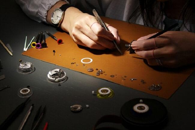 đồng hồ mà Hermes làm ra đều rất tỉ mỉ và tinh xảo