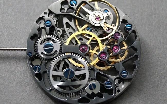 Bộ máy của đồng hồ cơ